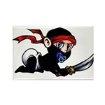 Ninja Baby Rectangle Magnet (10 pack)
