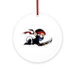 Ninja Baby Ornament (Round)