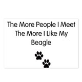 beagle luv Postcards (Package of 8)
