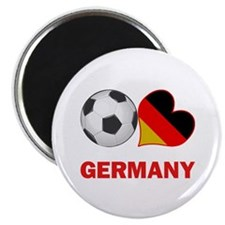 German Soccer Fan Magnet