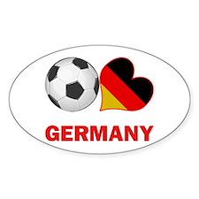 German Soccer Fan Decal