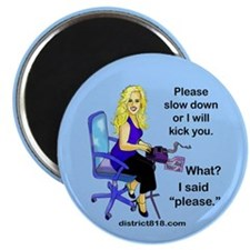 "COURT REPORTING 2.25"" Magnet (10 pack)"
