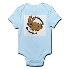 Save Bunnies Cruelty-Free Infant Creeper