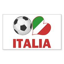 Italian Soccer Fan Decal