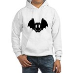 Bat Smiley 2 Hooded Sweatshirt