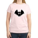 Bat Smiley 2 Women's Light T-Shirt