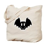 Bat Smiley 2 Tote Bag