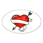 Tattoo Sticker (Oval 10 pk)