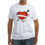Tattoo (Front) Fitted T-Shirt