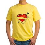 Tattoo Yellow T-Shirt