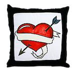 Tattoo Throw Pillow
