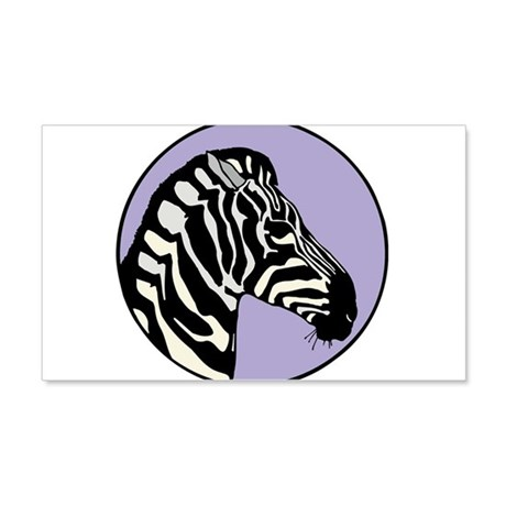 cool zebra circle design 22x14 wall peel by doonidesigns. Black Bedroom Furniture Sets. Home Design Ideas