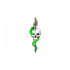 Snake & Dagger Skull 38.5 x 24.5 Wall Peel