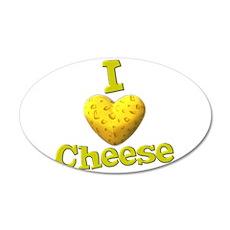 funny cute i heart love cheese cheesey heart 35x21