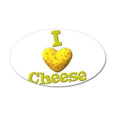 funny cute i heart love cheese cheesey heart 20x12