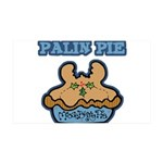 Palin Pie (Moose Berry Pie) 38.5 x 24.5 Wall Peel