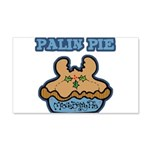 Palin Pie (Moose Berry Pie) 22x14 Wall Peel