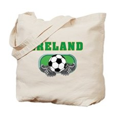 Ireland Soccer Tote Bag