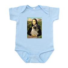 Mona & her Mastiff (#7) Infant Creeper