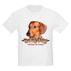 Will Race for Treats Kids T-Shirt