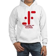 V We Are of Peace Always Hoodie