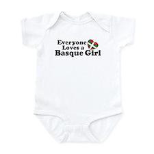 Everyone Loves a Basque Girl Infant Bodysuit