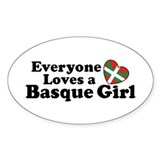 Everyone Loves a Basque Girl Decal