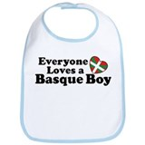 Everyone Loves a Basque Boy Bib