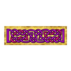 Celtic Purple Pink Knots 21x7 Wall Peel