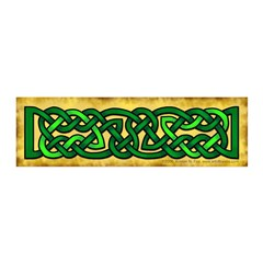 Celtic Green Knotwork 21x7 Wall Peel