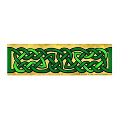 Celtic Green Knotwork 42x14 Wall Peel