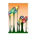 11x17 Peace Trees Poster