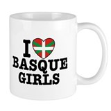 I Love Basque Girls Mug