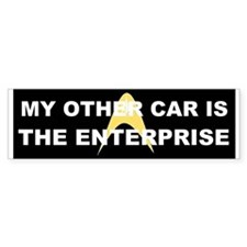 My other car is the Enterprise Bumper Stickers