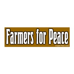 Farmers for Peace 20x6 Peelable Wall Graphic