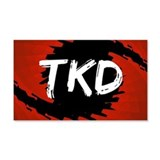 TKD Hurricane 22x14 Wall Peel