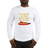 funny tugboat Long Sleeve T-Shirt