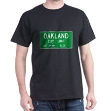 Oakland City Limits - Black T-Shirt