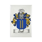 Scali Family Crest Rectangle Magnet (10 pack)