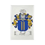Scali Family Crest Rectangle Magnet
