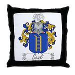 Scali Family Crest Throw Pillow