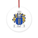 Scali Family Crest Ornament (Round)