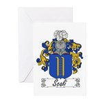 Scali Family Crest Greeting Cards (Pk of 10)