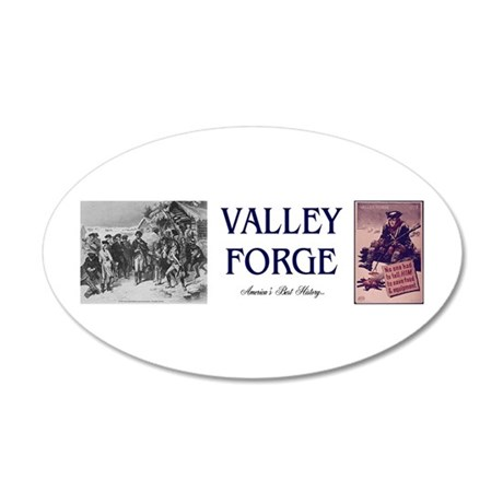 ABH Valley Forge 35x21 Oval Wall Decal