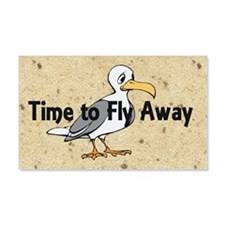 TEE Time to Fly Away 22x14 Wall Peel