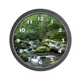 Rock Stream Gatlinburg TN Wall Clock