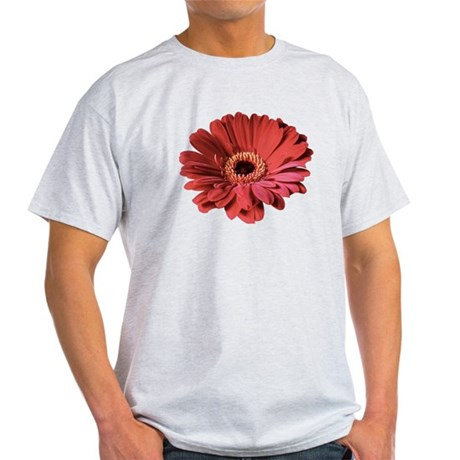 Red gerbera flower Light T-Shirt