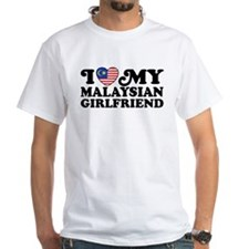 I Love My Malaysian Girlfriend Shirt
