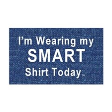 Smart Shirt 38.5 x 24.5 Wall Peel