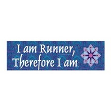TOP I Am Runner Wall Decal